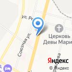 Фотосалон на карте Хабаровска