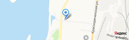 Магазин автозапчастей на двигатели на карте Хабаровска