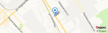 М-60 на карте Хабаровска
