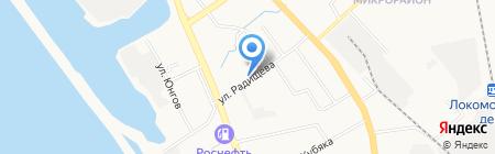 Герион-ДВ на карте Хабаровска