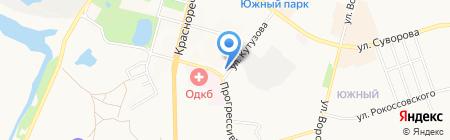 Транссервис на карте Хабаровска