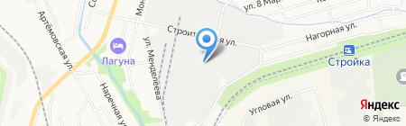 ШЕН на карте Хабаровска