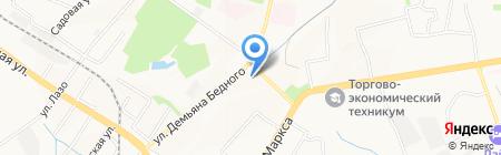 Тип-Топ на карте Хабаровска