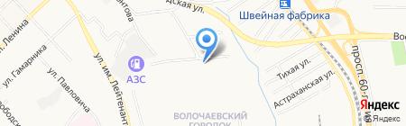 Закусочная на карте Хабаровска