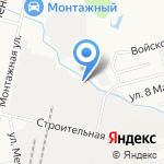 Хабаровсктехмонтаж-Трейд на карте Хабаровска