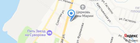 Межрегиональное управление Федеральной службы по финансовому мониторингу по Дальневосточному федеральному округу на карте Хабаровска