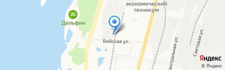 Финдом на карте Хабаровска
