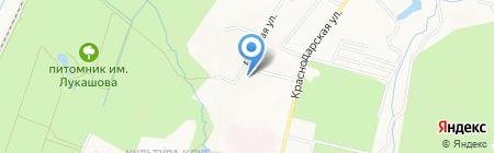 Поисково-спасательный отряд на карте Хабаровска