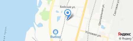 Эталон-ДВ на карте Хабаровска
