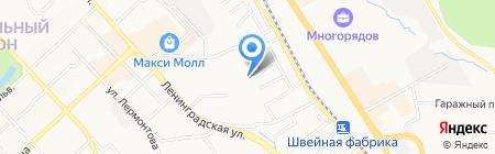 Малыш на карте Хабаровска