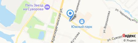Free Style на карте Хабаровска