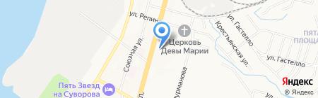 Краевое государственное бюджетное професиональное образовательное учреждение №7 на карте Хабаровска
