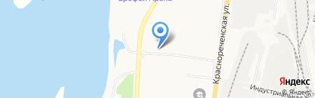 Магазин автозапчастей для японских автомобилей на карте Хабаровска