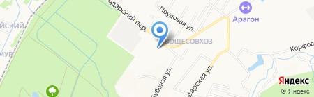 Торгово-производственная компания на карте Хабаровска