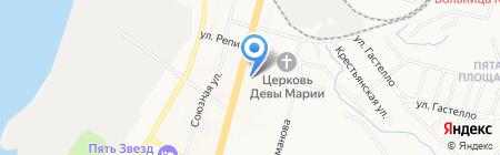 Проектная компания на карте Хабаровска