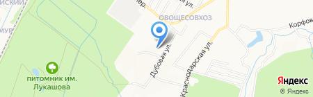 Эталон на карте Хабаровска