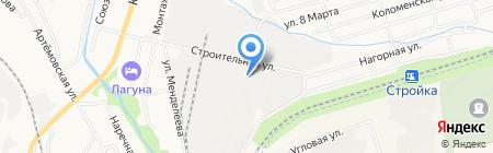Респект ДВ на карте Хабаровска