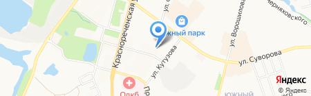 Спортмикс на карте Хабаровска