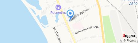 Калинка на карте Хабаровска
