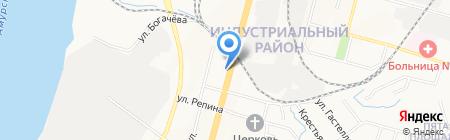 Бренд мебель на карте Хабаровска