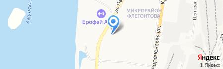 PartsLine на карте Хабаровска