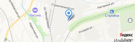 Тайгер-Мастерфайбр на карте Хабаровска