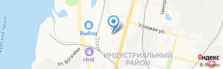 Азбука Жилья-ДВ на карте Хабаровска