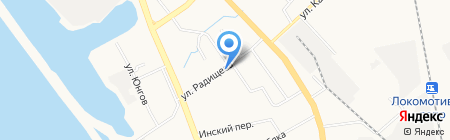 Быт сервис ДВ на карте Хабаровска