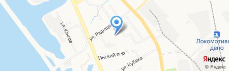 Дальневосточная производственно-торговая компания на карте Хабаровска