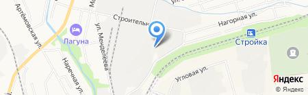 ХабТракСервис на карте Хабаровска