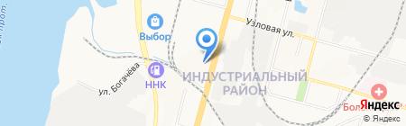 Фармация ГУП на карте Хабаровска