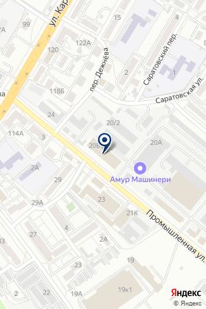 ТФ JAPANTREK на карте Хабаровска