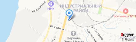 Отдел полиции №3 на карте Хабаровска