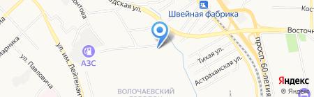 ВостокМедБизнес на карте Хабаровска