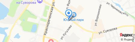 Эстель на карте Хабаровска
