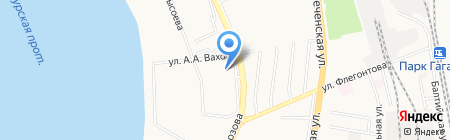 Vipera Cosmetics на карте Хабаровска