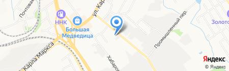 Служба сервиса на карте Хабаровска