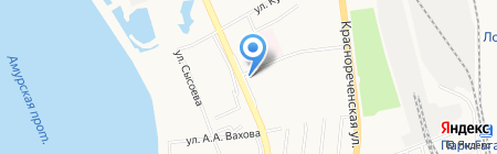 Чан-чен на карте Хабаровска