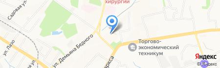 Шериф на карте Хабаровска
