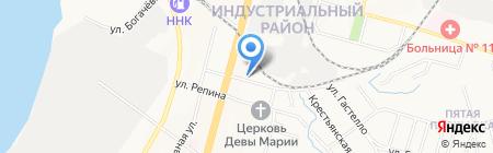 Многофункциональный центр по предоставлению государственных услуг на карте Хабаровска