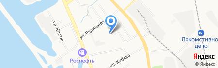 Хабаровская мебельная компания на карте Хабаровска