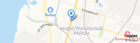 Отделение почтовой связи №6 на карте Хабаровска
