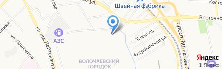 Пятерочка на карте Хабаровска