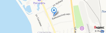 Общежитие на карте Хабаровска