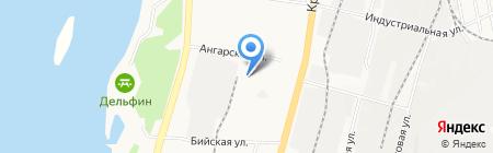 Град Сталь на карте Хабаровска