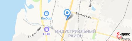 Центр медицинских комиссий на карте Хабаровска