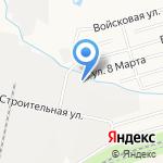 Склады-ДВ на карте Хабаровска