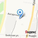 Брабансон Проджект Лоджистик на карте Хабаровска