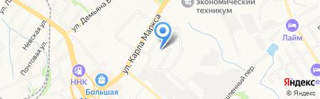 Детский сад №188 на карте Хабаровска