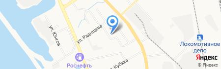 Взлет на карте Хабаровска